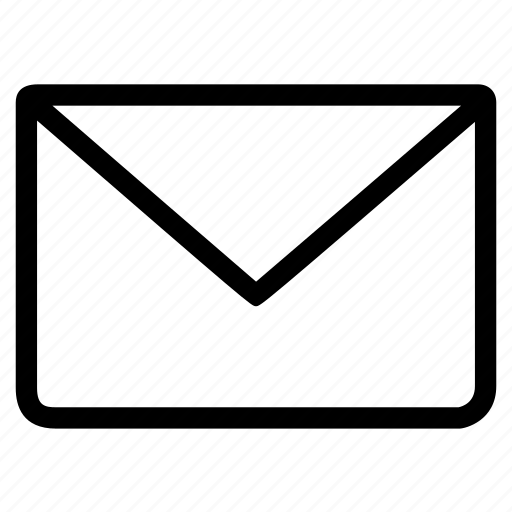 email, envelope, letter, mail, postage, unread icon