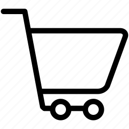 cart, empty, groceries, purchase, shopping, trolley icon