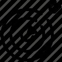 aim, focus, goal, relevant, score, target icon