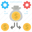 business, capital, cash, finance, fund, investment, money icon