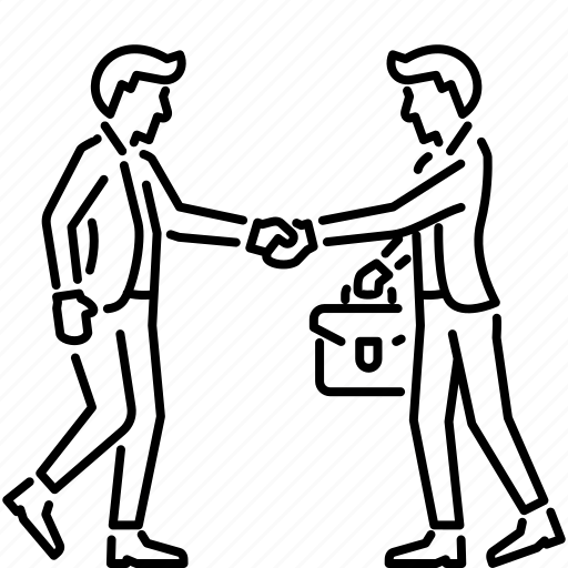 agreement, business, handshake, meeting, partnership icon