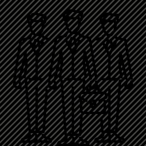 business, businessman, leader, office, team, teamwork icon