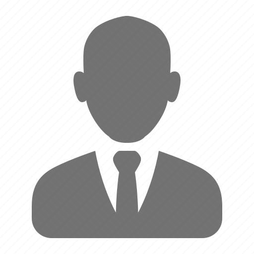 account, avatar, businessman, male, suit, tie, user icon