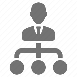 avatar, boss, businessman, in charge, manager, scheme, subordinate, suit, tie icon