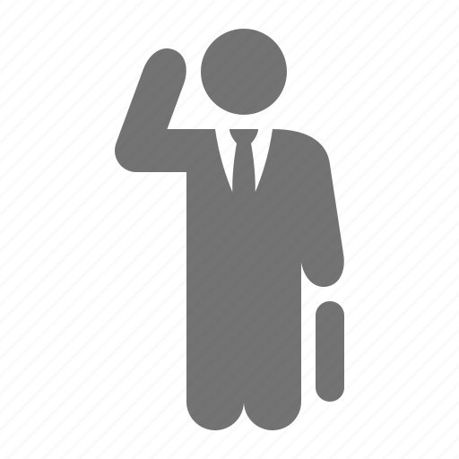 briefcase, businessman, bussy, suit, talk, tie, work icon