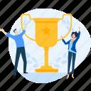 award, prize, success, team, teamwork, trophy, winner