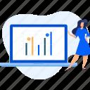 analysis, analytics, chart, data, diagram, research, statistics icon