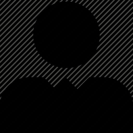 account, avatar, business, face, person, profile, user icon