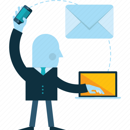 business, communication, contact, email, marketing, message, people icon