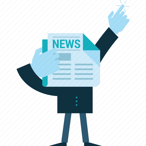 business, conceptual, event, news, newsletter, people icon