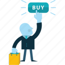 business, e-commerce, online, people, sale, shopping icon