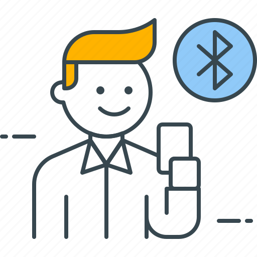 Bluetooth, transfer, connection, data, exchange, file, mobile icon - Download on Iconfinder