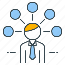 ideas, management, organization, overview, strategy, structure, thoughts icon