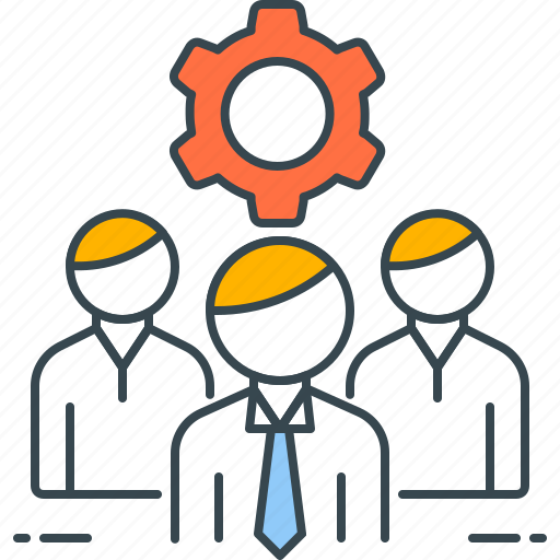 group, management, operations, people, project, team icon