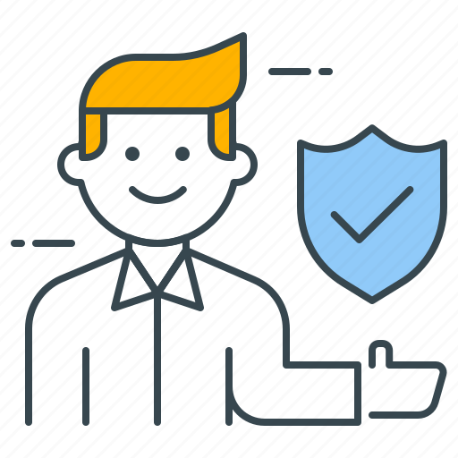 employee, insurance, protect, protection, safety, security, shield icon