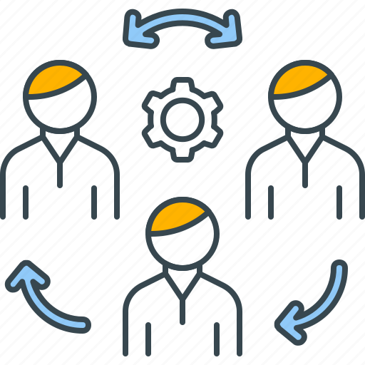 business, communication, conference, essential, interaction, meeting, teamwork icon