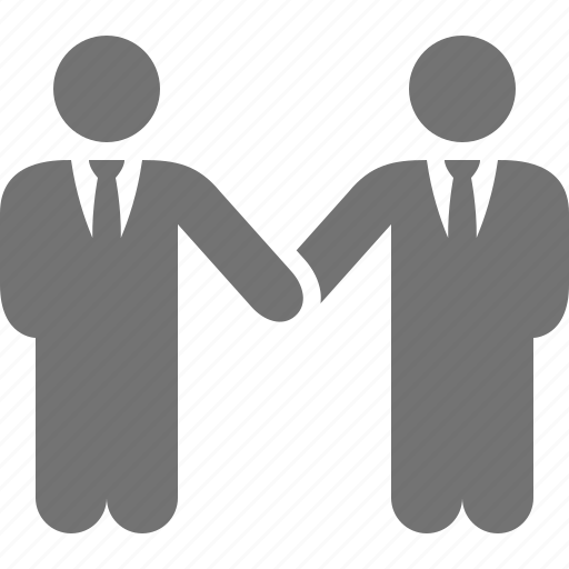 businessman, contract, deal, friendship, handshake, partnership icon