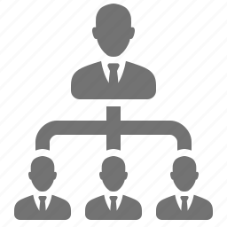 boss, businessmen, company, corportation, management, manager, referral icon