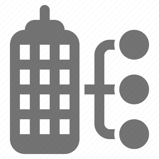 building, business, company, corporation, diagram, management, skyscraper icon