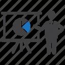 analysis, analytics, chart, market share icon
