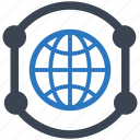 communication, global network icon