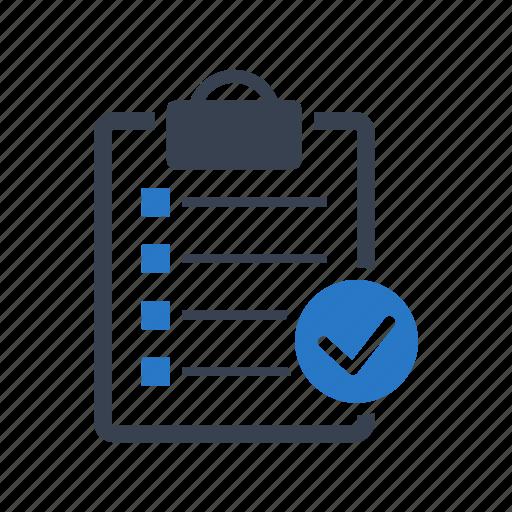checklist, clipboard, data, list, report icon