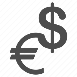 american dollar, cash, euro, fiat money, finance, payment, usa currency icon