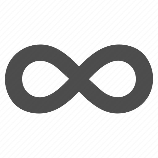 endless, eternity, future, infinite, infinity, loop, ribbon icon