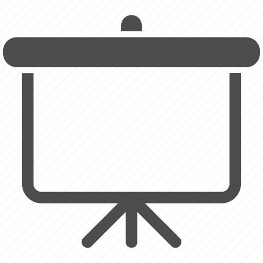 display, monitor, office, presentation screen, projection, report, screen icon
