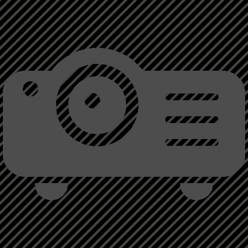 camera, display, movie, player, presentation, projector, video icon