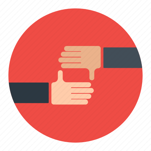business, cooperation, deals, hand, handshake, partners icon