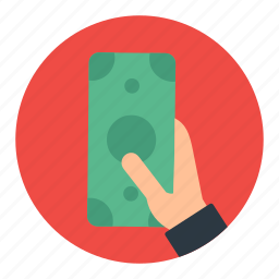 business, currency, earnings, finance, money, pay, payment icon