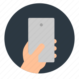 hand, iphone, mobile, phone, smartphone, touch icon