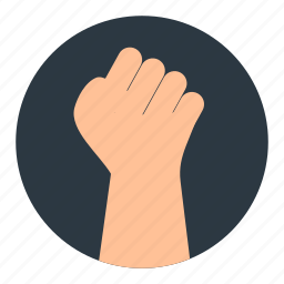 business, hand, strongest, struggle icon