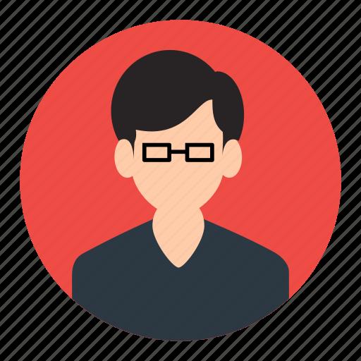 account, avatar, male, person, profile, user icon