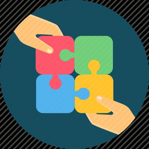 business, collaborate, collaboration, collaborative, cooperation, team, work icon