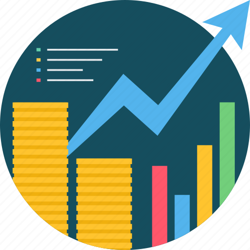 business, chart, finance, financial, graph, growth, revenue icon