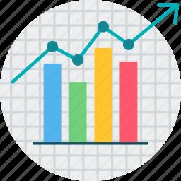 analytics, business, chart, graph, milestone, performance, statistics icon