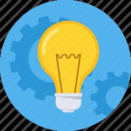 adapt, bulb, business, effectiveness, idea, innovation, proactive icon
