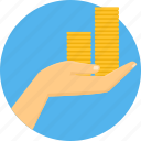 budget, business, cash, funds, invest, investment, money icon
