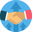 business, contract, deal, handshake, partnership, shakehand icon
