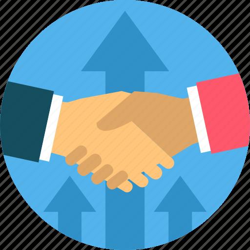 business, contract, deal, handshake, partnership, shakehand icon