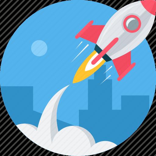 beginning, business, launch, start, startup icon