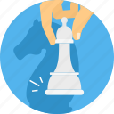 business, chess, game, management, plan, strategy icon