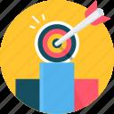 bullseye, business, dart, dartboard, focus, target icon
