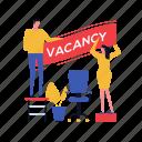 business, office, vacancy, recruitment