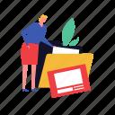 business, sorting, data, folder, information