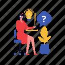 freelancer, online, support, consultation, manager