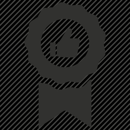 award, badge, like, reward icon