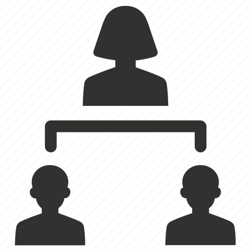 hierarchy, leadership, management, structure icon